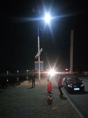 风光互补路灯2